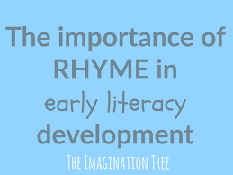 thanksgiving rhyme the importance of rhyme in early literacy development the