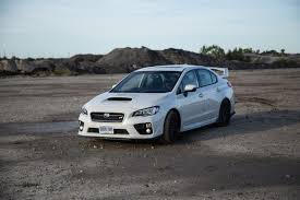 subaru white 2016 review 2016 subaru wrx sti sport package canadian auto review