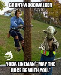 Power Lineman Memes - pin by power shark on lineman linewife memes designs pinterest