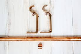 Copper Curtain Rods Copper Pipe Hanging Planter Easy A Beautiful Mess