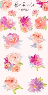 Floral Art Designs Watercolor Floral Clip Art Clip Art Watercolor And Artwork