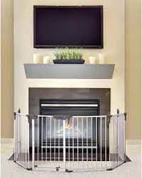 Baby Proof Fireplace Screen by 7 Top Fireplace Baby Gate Choices Baby Safety Concerns
