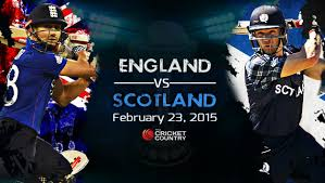 Cricket World Cup Table England Vs Scotland Icc Cricket World Cup 2015 Match At
