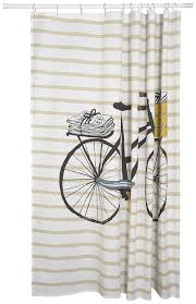 Harley Shower Curtain Bicycle Shower Curtain Home Design And Decoration