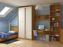 Single Bed Designs For Boys Inspiring Attic Boys Bedroom Design With Roof Window Above Brown