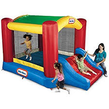 black friday bounce house amazon com little tikes jump u0027n slide bouncer toys u0026 games