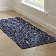 rug runners for hallway kitchen u0026 outdoor crate and barrel