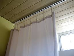 Shower Curtain Tracks Hospital Hardware For Hanging Shower Curtains Ceilings Hang
