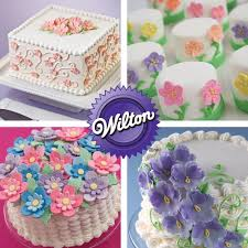 Flower Design Course The Wilton Method Of Cake Decorating Will Teach You All Of The