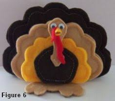turkey ornaments thanksgiving so make your own turkey softies as toys decorations or