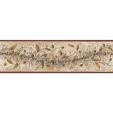 york wallcoverings carolina vine wallpaper border hk4669bd the