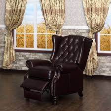 Modern Recliner Chair Furniture Wing Back Recliner Will Add Comfort And Style In Your