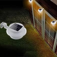 solar light wall solar powered led fence light outdoor garden wall lobby pathway