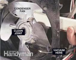 refrigerator condenser fan how to avoid refrigerator repairs family handyman