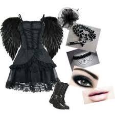 Halloween Costumes Death Peyton U0027s Angel Death Costume Tasha Xp Polyvore Featuring