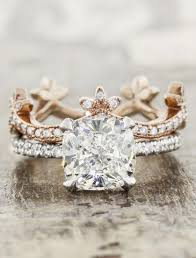nature inspired engagement rings unique engagement rings ken design