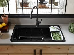 single bowl kitchen sink standard plumbing supply product kohler k 5871 1a2 0 riverby self