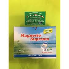 magnesio supremo bustine supremo 32 bustine da 2 4 gr