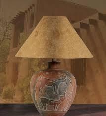 intertwined antler deer table lamp sueded shade rustic lake