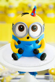 Minion Cake Decorations Modern U0026 Bright