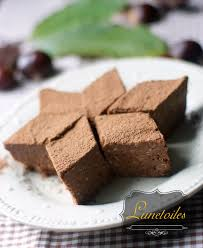 cuisiner chataigne gâteau châtaigne chocolat gateau sans cuisson amour de cuisine