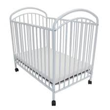 la baby compact folding metal crib free shipping today