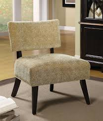 Patterned Accent Chair Brown Swirl Fabric Accent Chair Accent Chairs