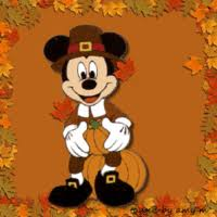 animated gif of mickey mouse thanksgiving day and free images