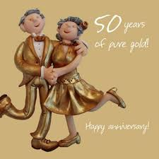 50th wedding anniversary buy holy mackerel happy 50th wedding anniversary happy gold