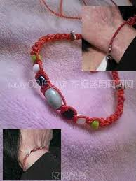 lucky red bracelet images Michael jackson lucky red bracelet mj speechless style ebay jpg