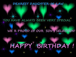 birthday wish for daughter in law free extended family ecards