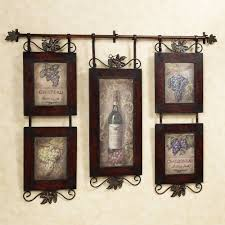 Dining Room Art Ideas Attractive Wrought Iron Kitchen Wall Decor Including Decorative