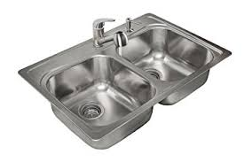 Kitchen Sink Deep by Kindred Kfg802snkit 20 Gauge Stainless Steel Double Bowl Topmount