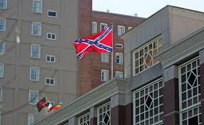 Flag Sc Group Behind Confederate Flag Flying To Protest At College Of