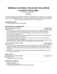 interesting model resume for teacher job with sample resume for