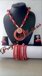 pin by shilpa veeravalli on thread jewelry pinterest silk