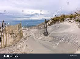 path through sand dunes on beach stock photo 68019463 shutterstock