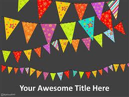 festive powerpoint templates celebration template powerpoint free