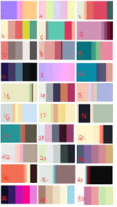 photo collection color palette adopts