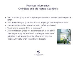 going abroad exchange study abroad international office ppt