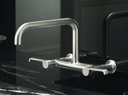 wall mount faucets kitchen kohler torq bridge faucet the new kitchen sink faucet