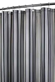 Vertical Striped Shower Curtain Stripe Fabric Shower Curtain Foter