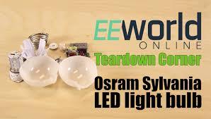 flood light bulbs sylvania teardown osram sylvania a19 60 w equivalent led bulb youtube