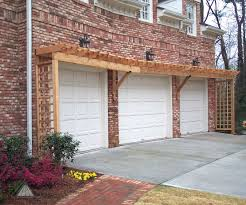 trellis over garage door good craftsman garage door with plant