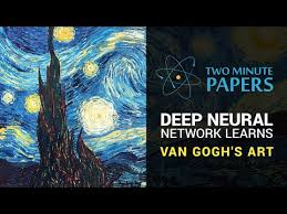 Text Artwork by Deep Neural Network Learns Van Gogh U0027s Art Two Minute Papers 6
