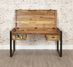 Wooden Laptop Desk by Urban Chic Laptop Desk Dressing Table Urban Chic Reclaimed