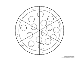 pizza coloring pages 28765 bestofcoloring