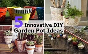 Garden Pots Ideas 5 Innovative Diy Garden Pot Ideas Home So