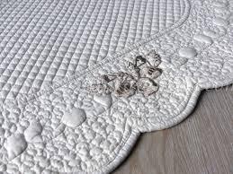 tappeto blanc mariclo tappeto trapuntato boutis serie blanc maricl祺
