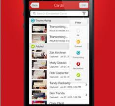 Business Card Capture App Best Business Card Reader App For Iphone Appdazzle